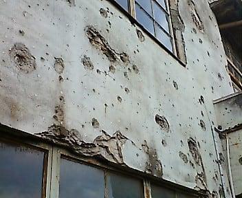 多摩の戦跡写真パネル展