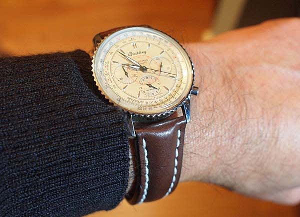 watch dd6af 45266 ブライトリングの皮ベルト交換 - 67camper's Blog