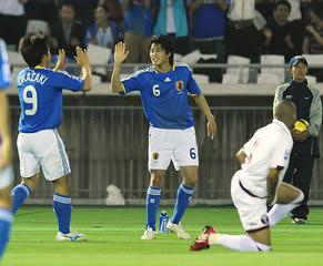 対 カタール 審判 日本