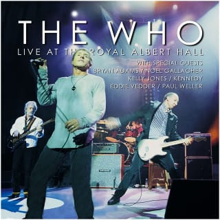 live at the royal albert hall the who shiotch7. Black Bedroom Furniture Sets. Home Design Ideas