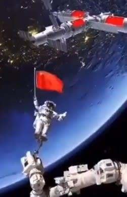ロシア宇宙棟から煙,宇宙,宇宙開発,ロシア,ロスコスモス,ズヴェズダ,Zvezda,ロボットアーム,宇宙飛行士,天宮衛星,,