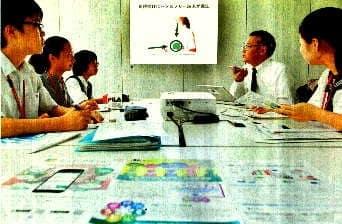 端末の画像を紹介するNICTの隅田さん