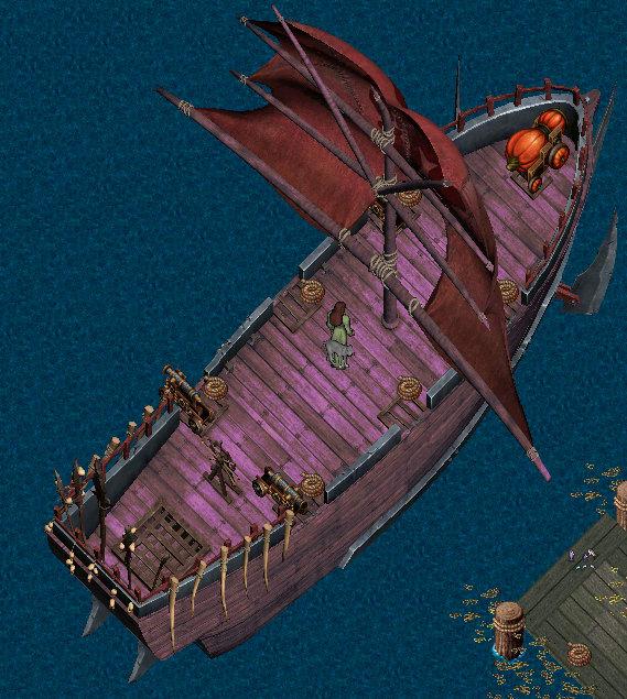 特殊船舶塗料色見本:ツートン オーク船Ver。