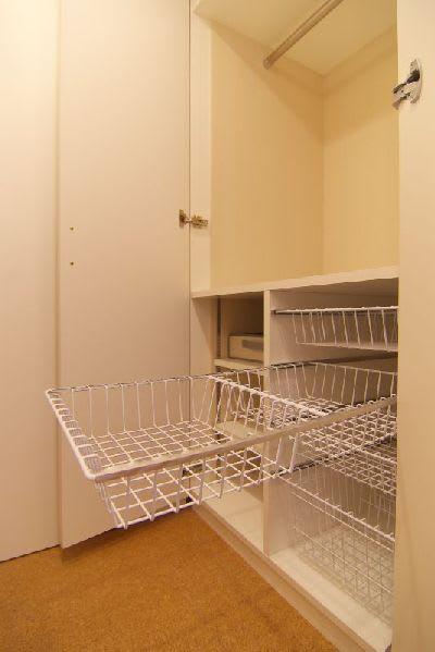 洗面室に設ける下着収納
