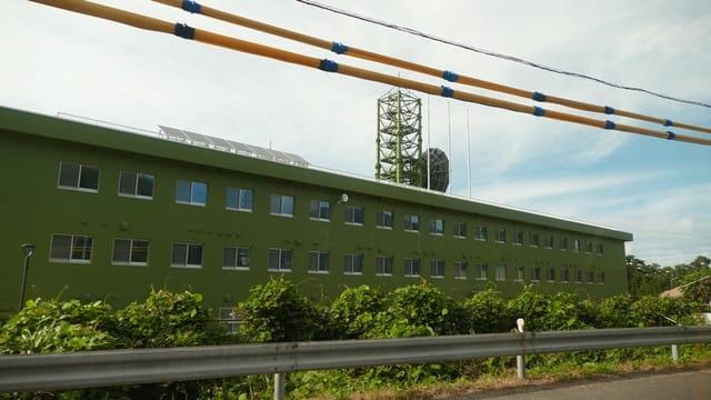 経ヶ岬の通信基地
