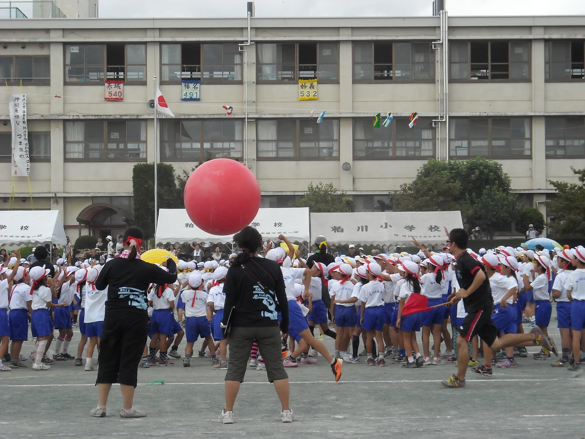 平成23年粕川小学校運動会終 - JL1AGY's BLOG