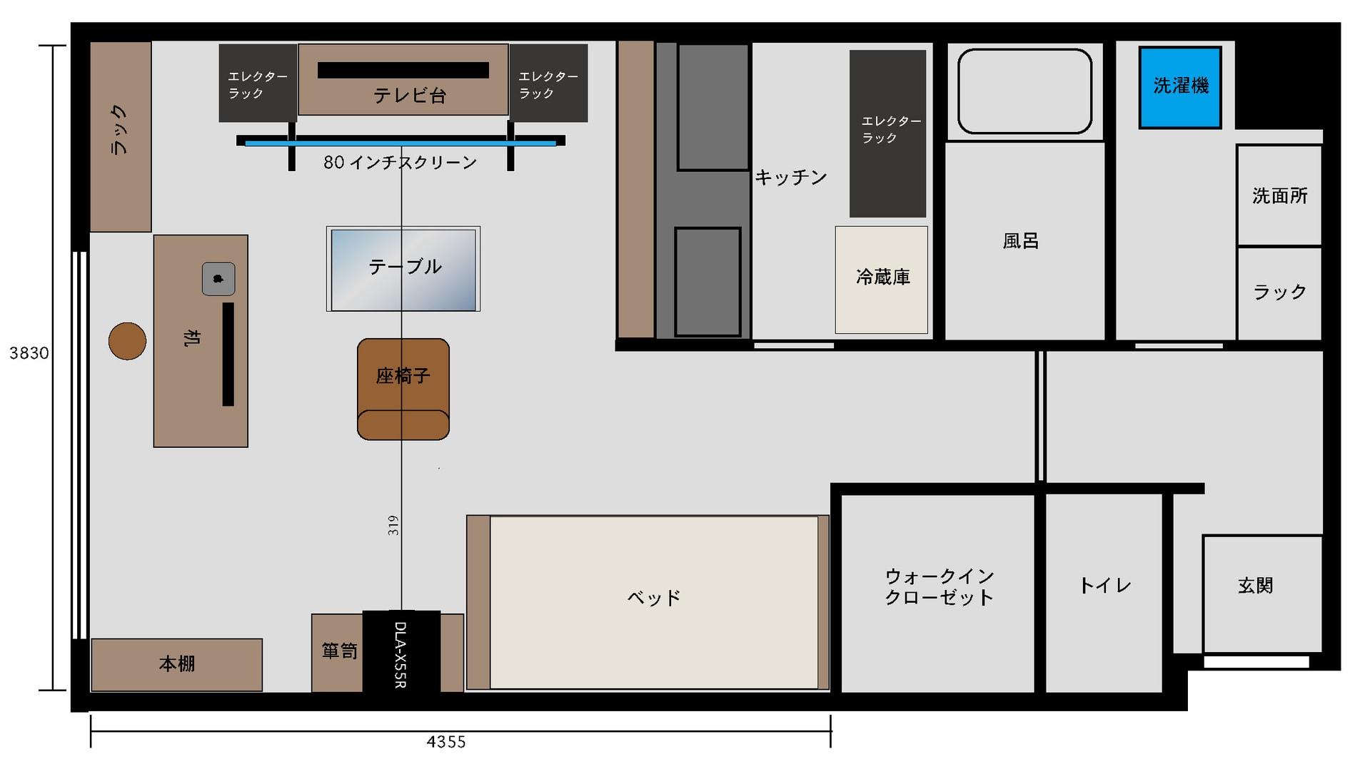 ベストパーフェクト家具配置| 8730