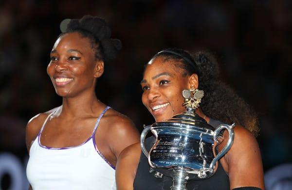 突然気づいたが、テニスのウィリアムズ姉妹って、あんまり顔が似てい ...