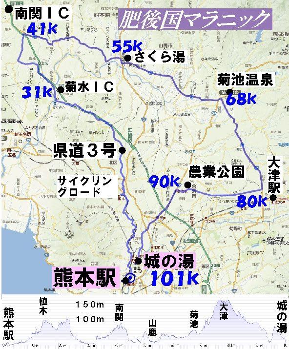 肥後国マラニック新コース - AID...