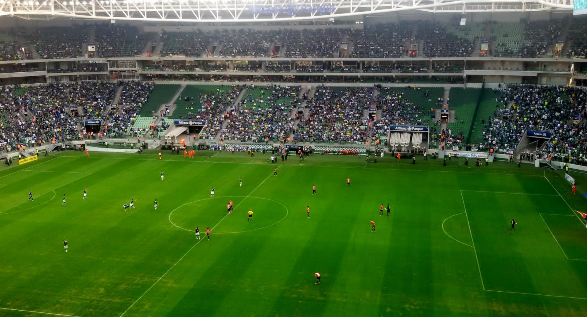 Palmeiras X São Paulo en ALLIA...