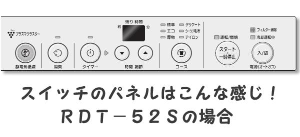 RDT-52Sパネル
