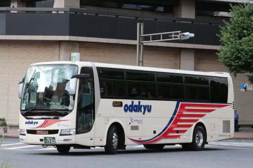 小田急箱根高速バスの新車 1503...