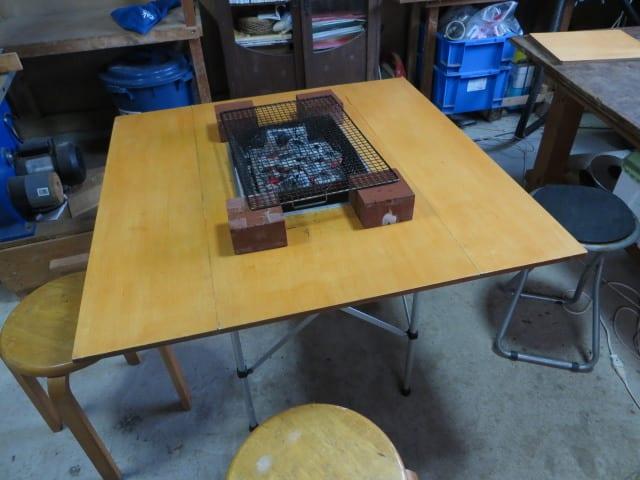 テーブル diy バーベキュー