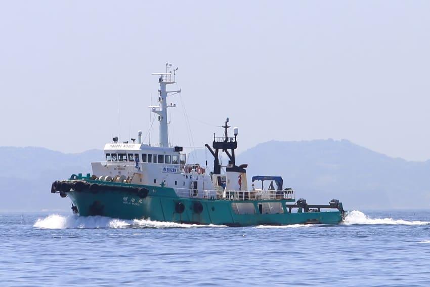 曳船 「 明治丸 」 ( 日本 / EK...