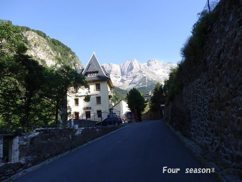 ピレネーの麓仏側ガヴァルニー周辺とホテルピレネー固有