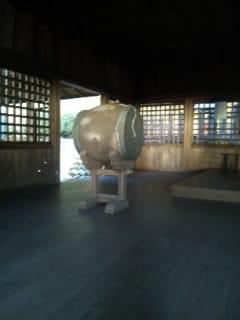 お諏訪様の太鼓
