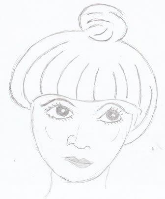 黒柳 徹子 さんのイラスト 爺チャンの似顔絵帳