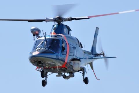 三重県防災ヘリコプター交代式 -...