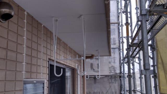 外壁塗装鉄部さび止めの写真