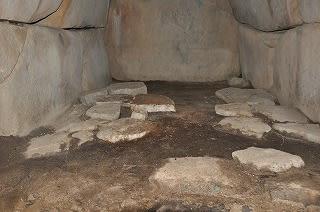 1号墳石室
