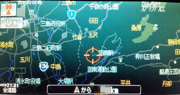 三島塚原IC付近は点線表示のまま