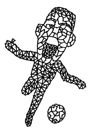 ルイス・スアレスの似顔絵