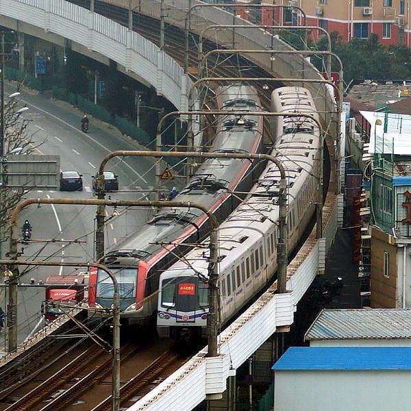 ○ 上海軌道交通 3号線・4号線 - ...