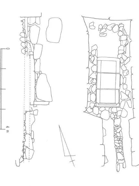 2号墳石室図