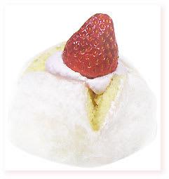 Familymart/いちごのもちもちケーキ