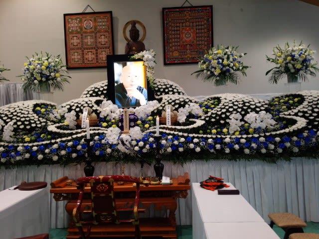 田中雅博師の葬儀 - 仏教を楽し...