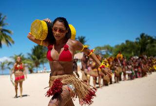 ブラジル先住民族世界競技会 サンタクルス-カブラリアで開催 - 先住民 ...