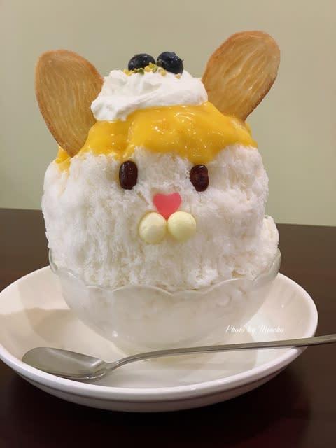 【調布】かき氷の『ぱくぱくくもくま堂』で「うさ山さんのレモンパイ」 - コダワリの女のひとりごと(Minettyの旅とグルメ)