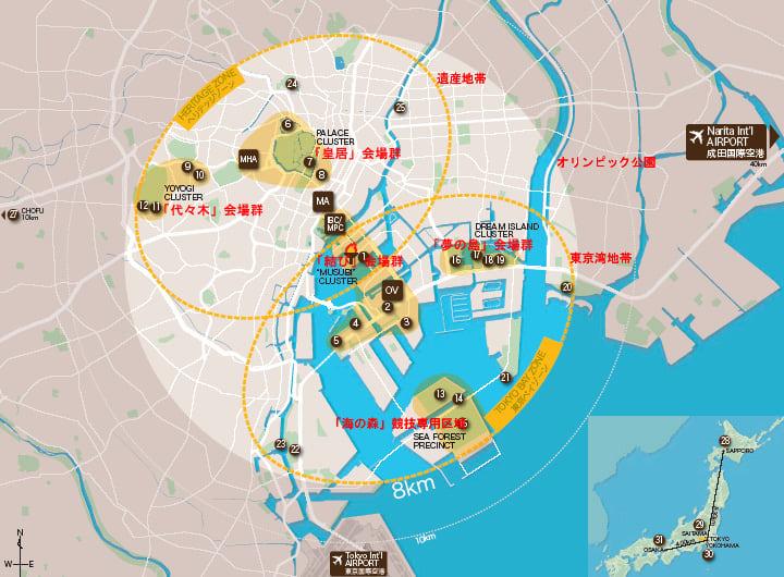 東京都の2016年オリンピック招致...