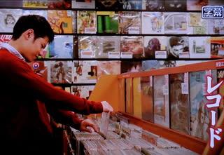 レコード漁り