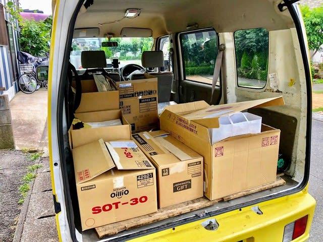 お中元、法要などの引き出物の配送
