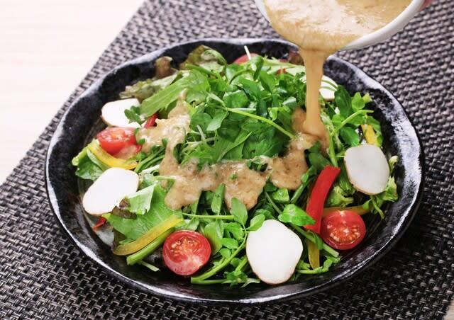 自然薯 サラダ