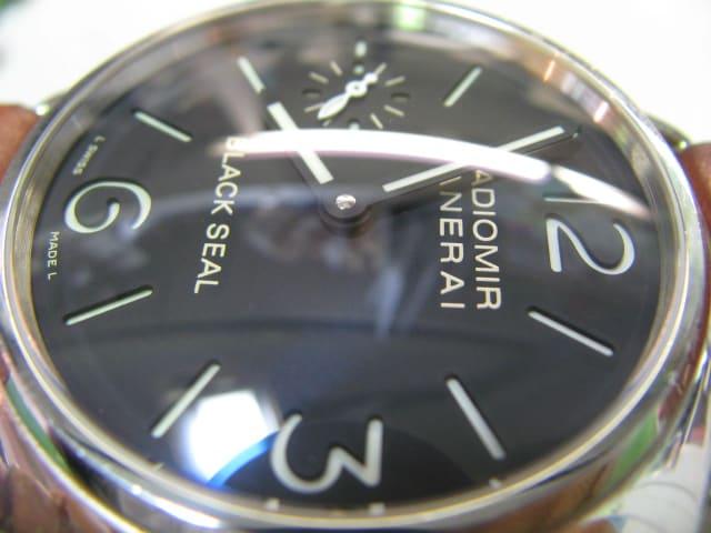 new product d856c 954d1 パネライ手巻き時計とインターナショナルアクアタイマーを修理 ...
