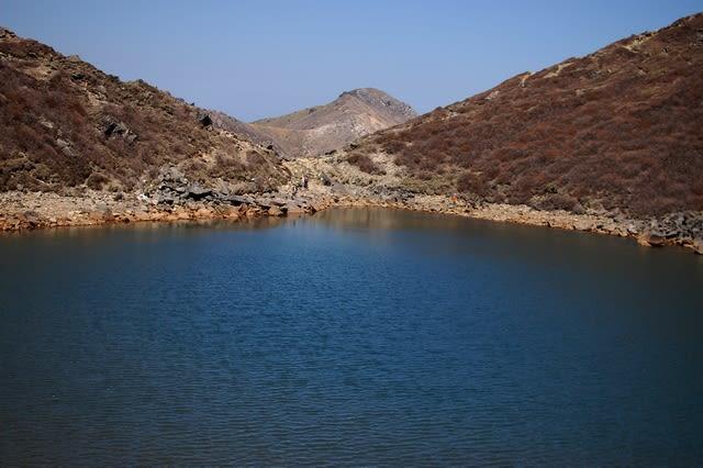 くじゅう中岳御池