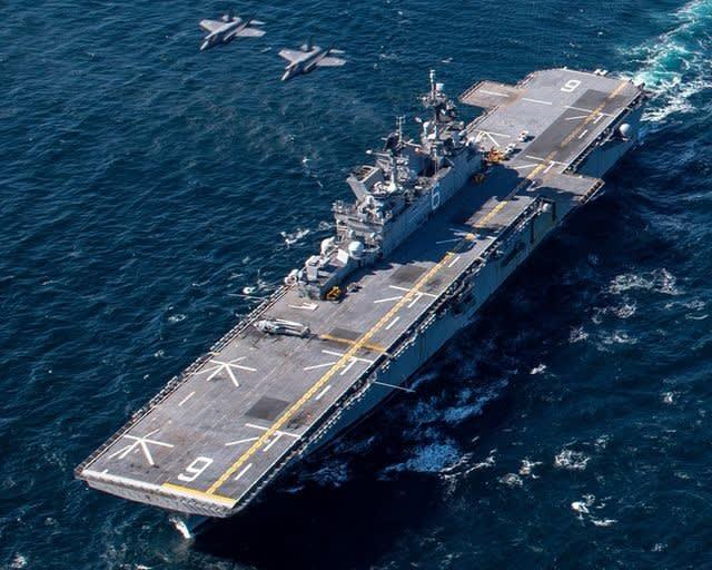航空自衛隊,第3航空団,F35A,米海軍,ステルス戦闘機,海戦,戦艦,護衛艦,強襲揚陸艦,USSアメリカ,日米共同訓練 USSAmerica,LHA6,乗り物のニュース,フリート,グランド,Fleet,万能論,
