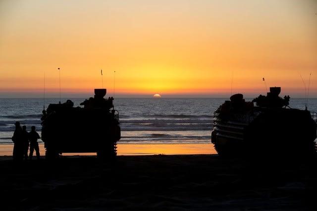 水陸機動団,海兵隊,日米実働訓練A,RDBIF20,USMC,JGSDF,アイアンフィスト20,Ironfist20,乗り物,戦車,沖縄県,ブルービーチ,31stMEU,第31海兵遠征部隊,