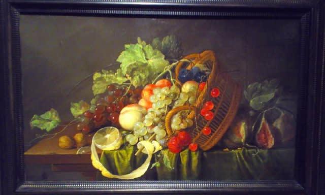 カラヴァッジョ『果物籠』 – 名画の見られる日本の美術館