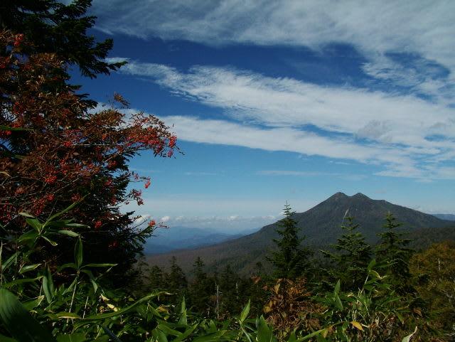 登山道からの燧ケ岳