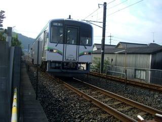 井原鉄道の車両(総社行き)