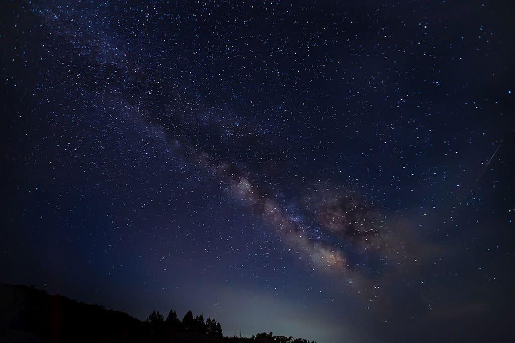 天の川(折爪岳)の写真