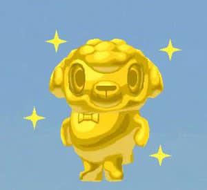 ゴールデンな金ピカひつじのしつじくんが完成