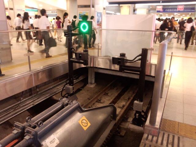小田急新宿駅で新装置発見