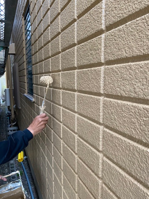 外壁塗装2回目の写真