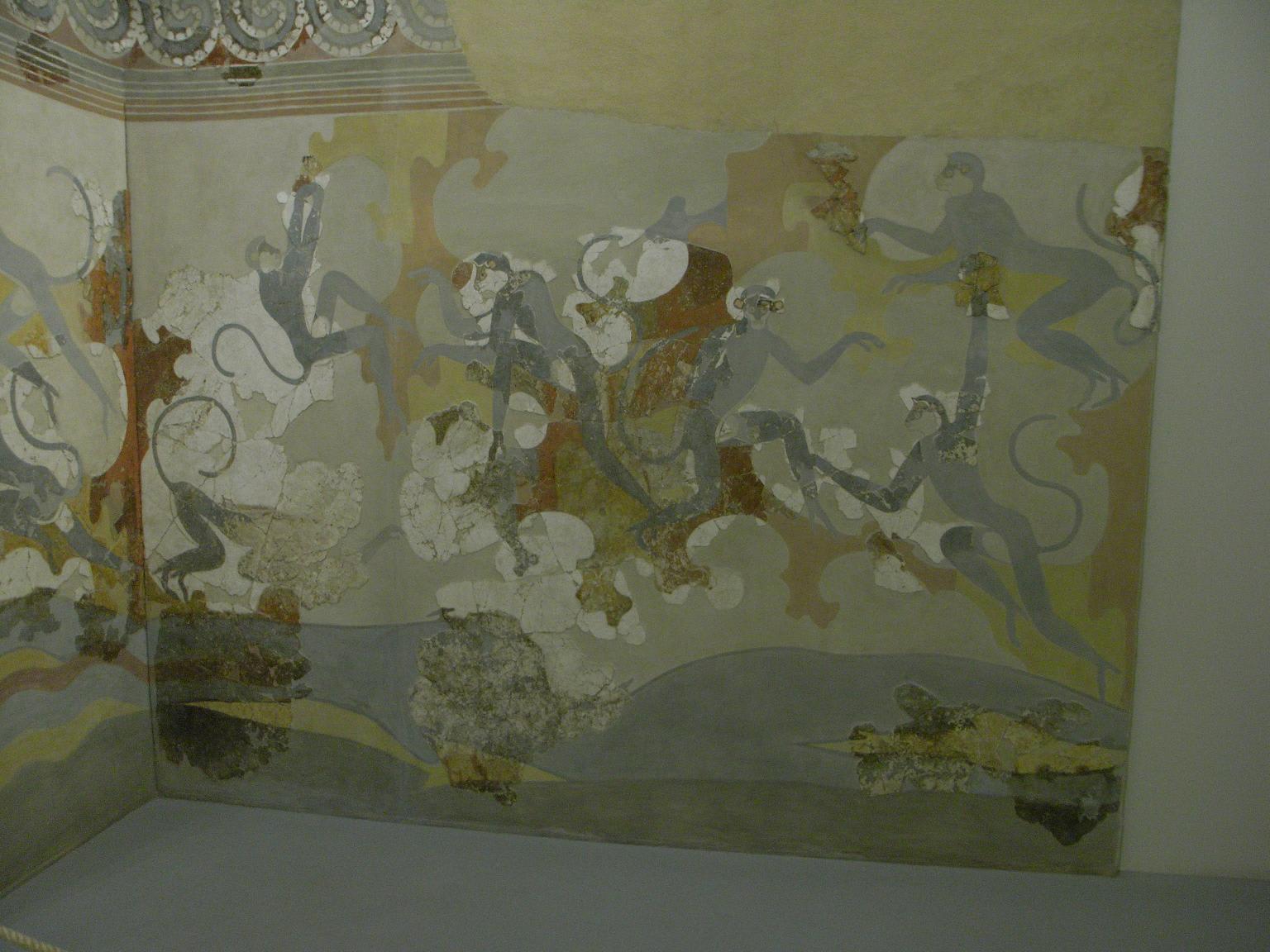 紀元前17世紀の壁画 - ウィトラ...