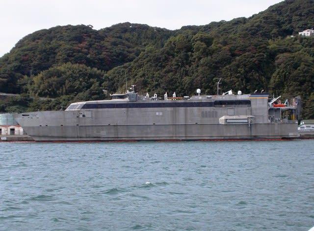 米海軍 高速輸送艦グアム(Guam T-HST-1) - 観光列車から! 日々利用 ...