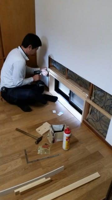 岡山市北区田益の住宅での窓増設工事 感動としあわせの家づくり物語